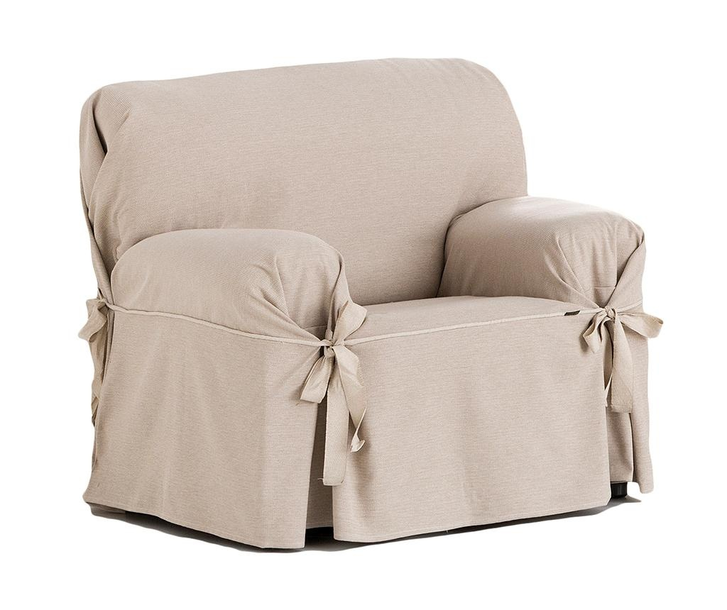 Podesiva navlaka za fotelju Constanza Linen Bows