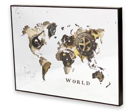 Stenska ura World Map