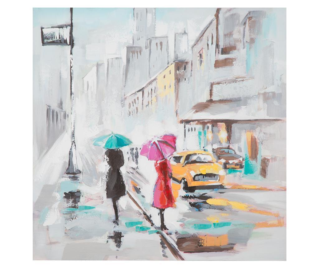 Картина Rain Paris 100x100 см