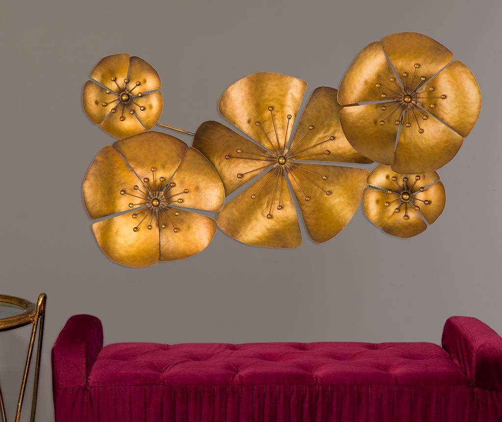 Decoratiune de perete Flora Goldy
