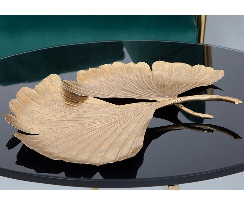 Platou decorativ Double Leaf