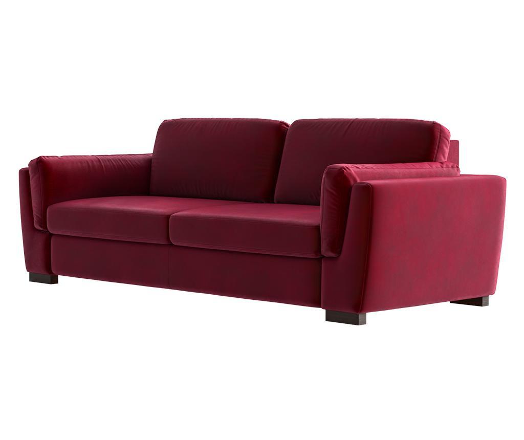 Bree Red Háromszemélyes kanapé