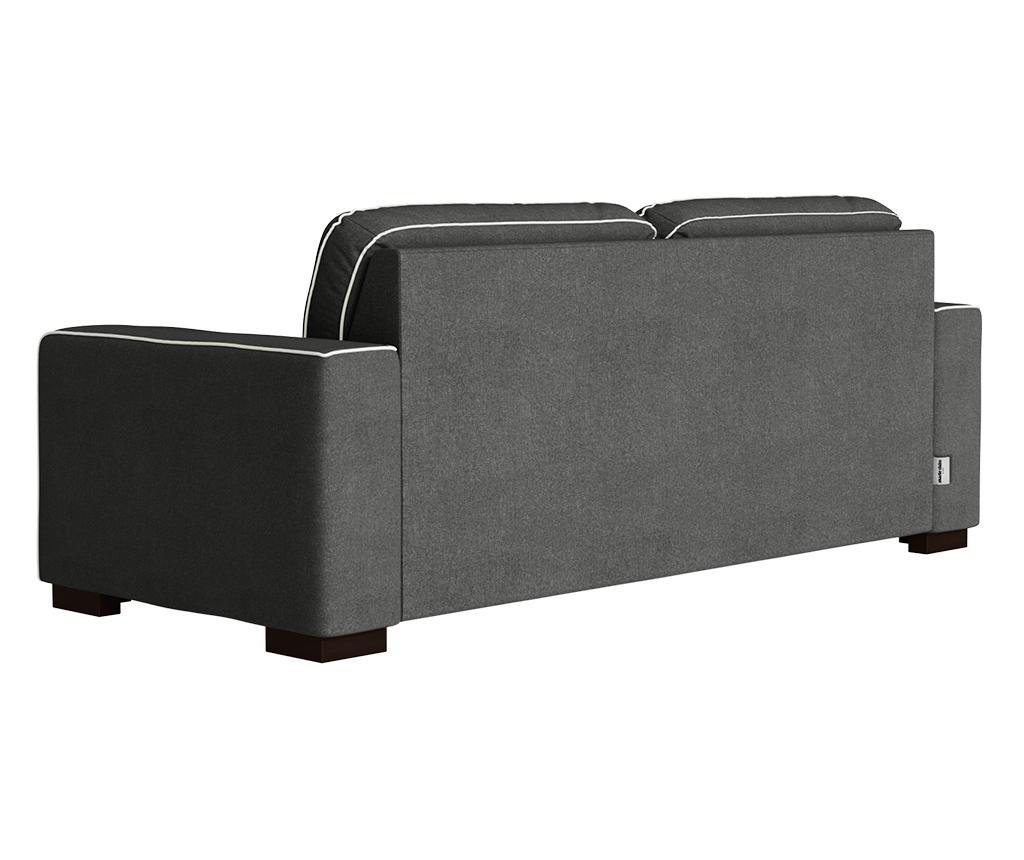 Katherine Anthracite Grey Háromszemélyes kanapé