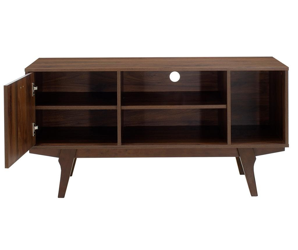 TV komoda Nook Walnut Brown
