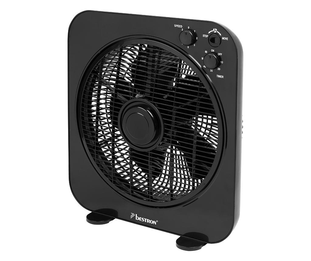 Ventilator de podea Box Black