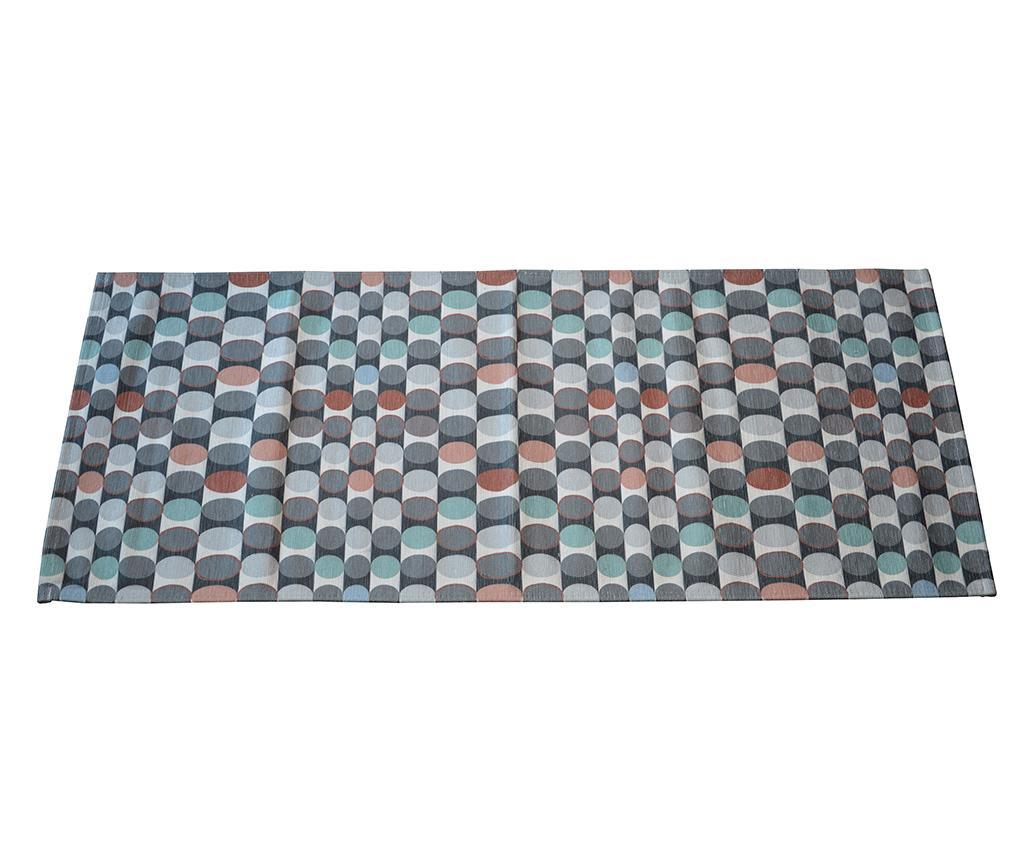 Tepih Dots Multi 60x240 cm