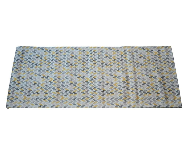 Preproga Knit Grey Ochre 60x240 cm