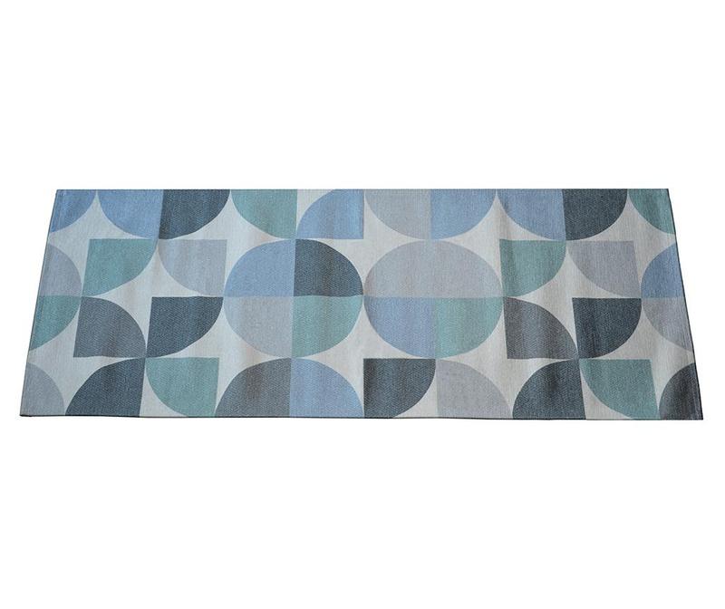 Preproga Seventy Blue 60x115 cm