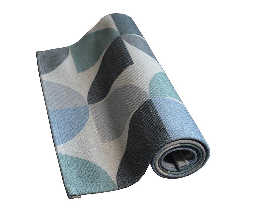 Tepih Seventy Blue 60x140 cm