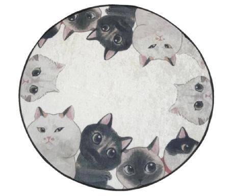 Kupaonski tepih Curious Cats 100 cm