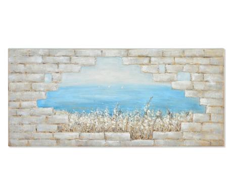 Картина Seaside 150x70 см