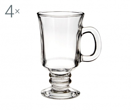 Set 4 skodelic za kavo Irish Delight 230 ml