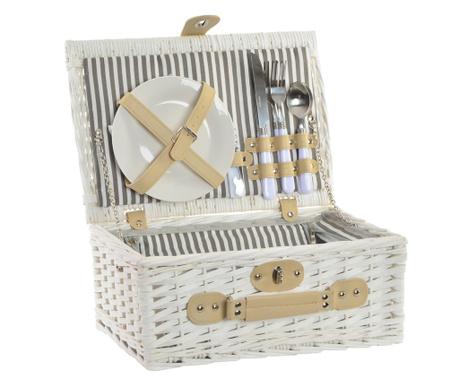 Оборудвана кошница за пикник за двама Miriam