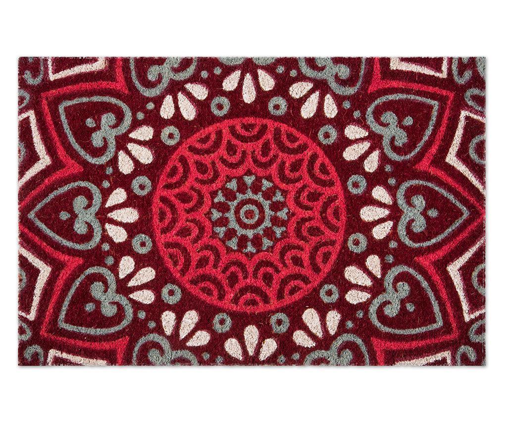 Otirač Mandala Red 40x60 cm