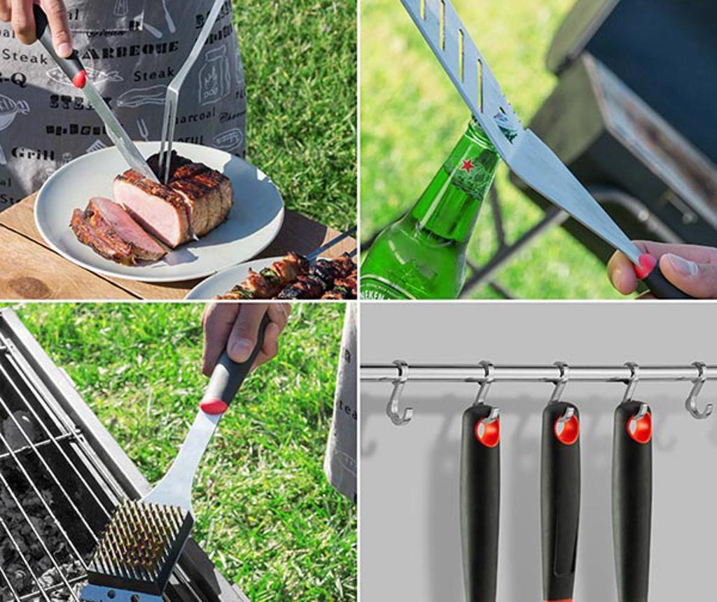 Professional 10 darab Grillező eszköz és kés