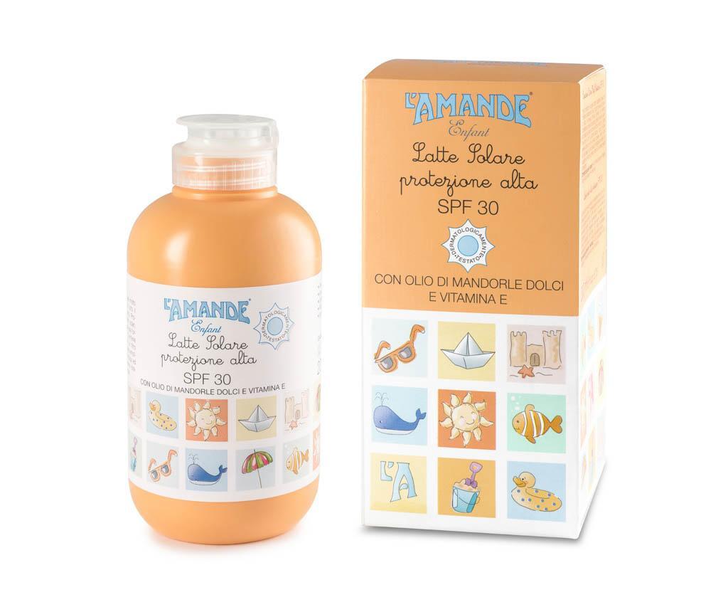 Crema de plaja L'Amande Enfant Solari 30+ 200 ml