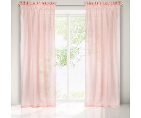 Zavesa Metis Pink 140x300 cm