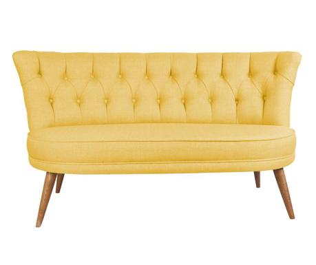 Sophia Yellow Kétszemélyes kanapé