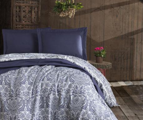 Prikrývka Pique Nish Dark Blue 240x260 cm