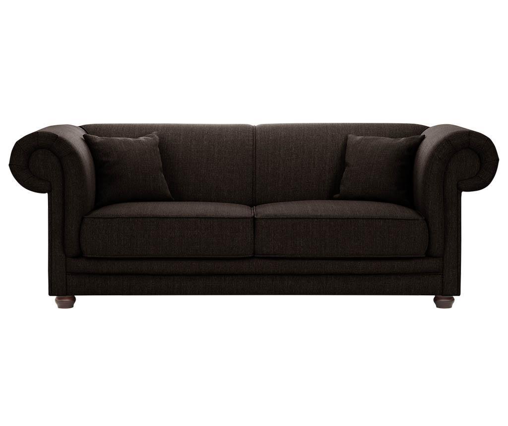 Canapea 3 locuri Aubusson Hazelnut
