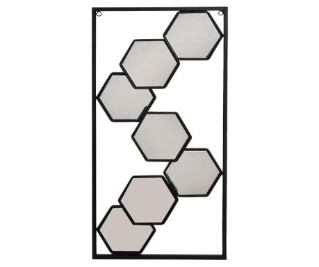 Dekorácia so zrkadlom Geometric