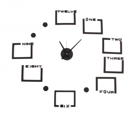 Nástenné hodiny s 8 fotografiami Puzzle