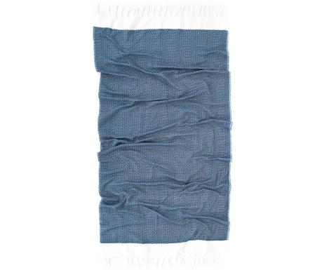 Dila Dark Blue Pestemal fürdőszobai törölköző 90x170 cm