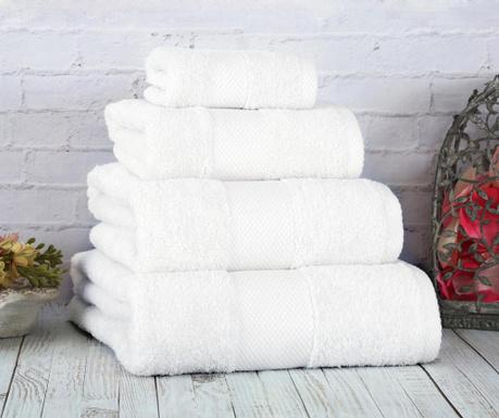 Кърпа за баня Damla Coresoft White 90x150 cm