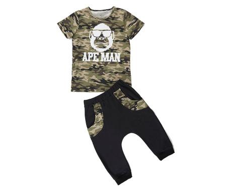Sada tričko a kalhoty pro děti Apeman Camo 4 r.