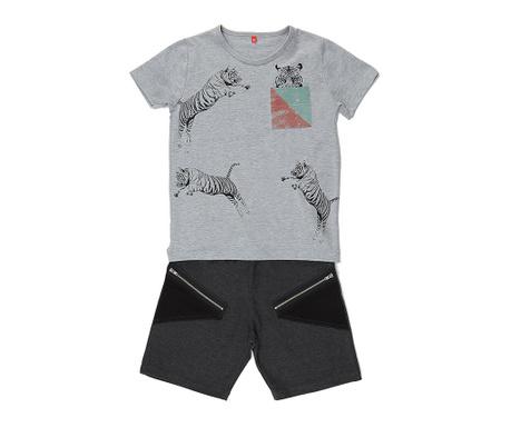 Sada tričko a nohavice pre deti Jumping Tiger