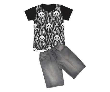Sada tričko a nohavice pre deti Pandas