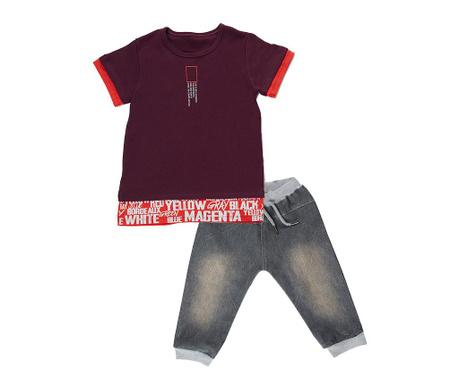 Grey Denim Gyerek póló és nadrág