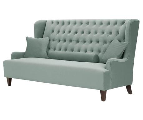 Canapea 3 locuri Flanelle Blue