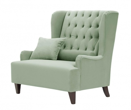 Fotelja Flanelle Big Mint Green