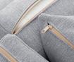 Coltar dreapta Organdi Big Angle Grey