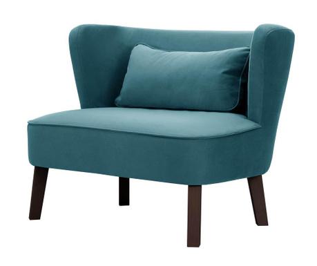 Dvoumístná pohovka Organza Turquoise