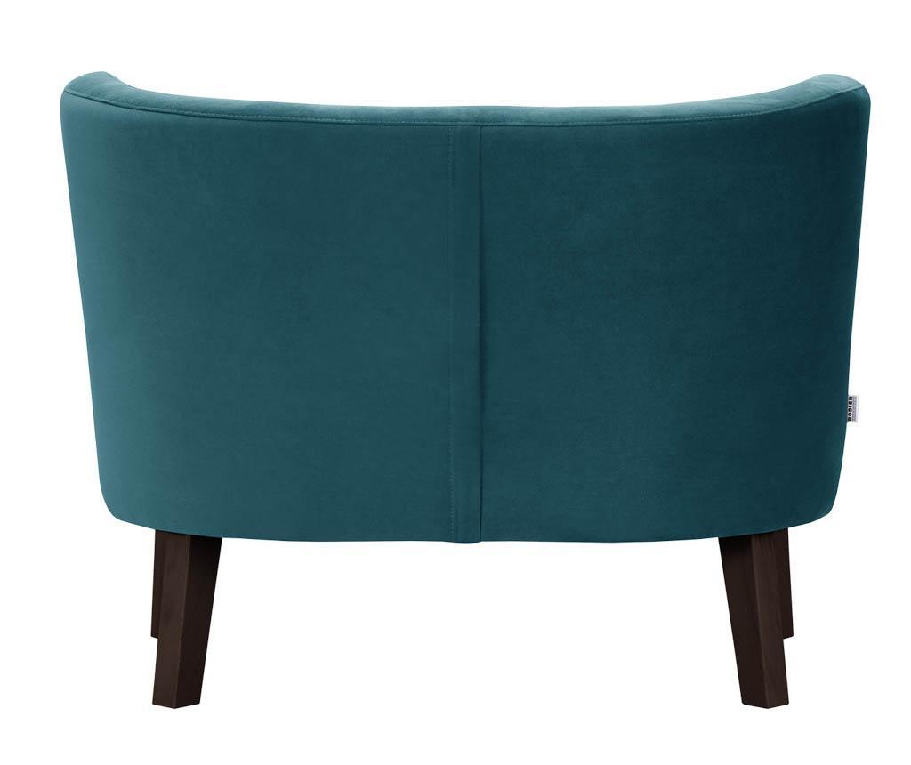 Kauč dvosjed Organza Turquoise