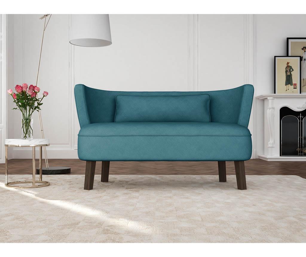 Canapea 3 locuri Organza Turquoise