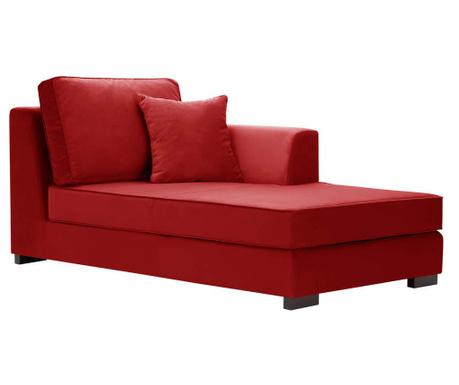Desna ležaljka za dnevni boravak Taffetas Red