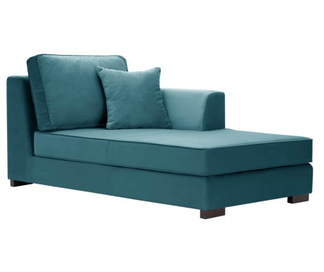 Lehátko do obýváku pravostranné Taffetas Turquoise
