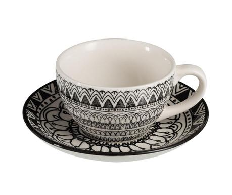 Mono Boho Csésze és kistányér