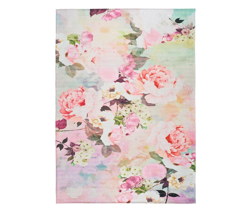 Tepih Chenille Flowers 160x230 cm