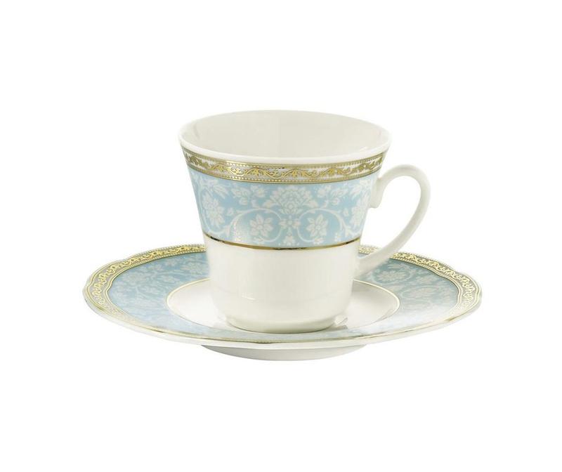 Сервиз 6 чашки и 6 чинийки Marcia