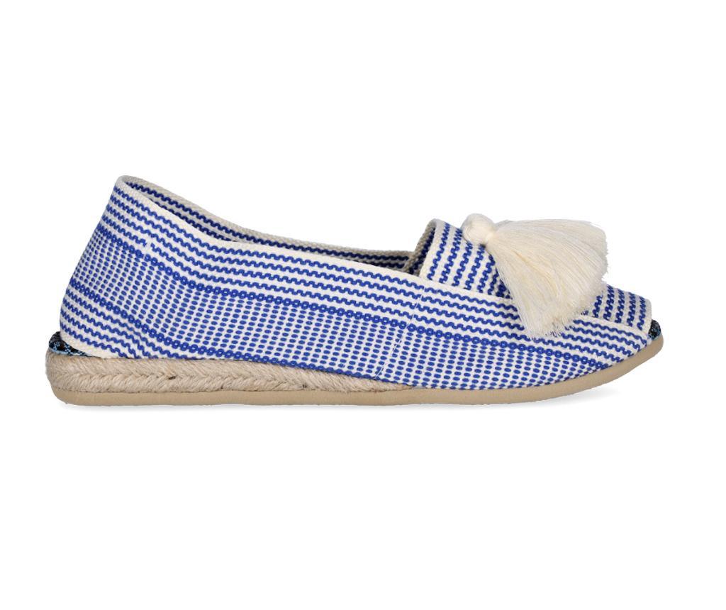 Дамски сандали Frill Blue Navy 37