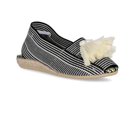 Ženske papuče Frill Black