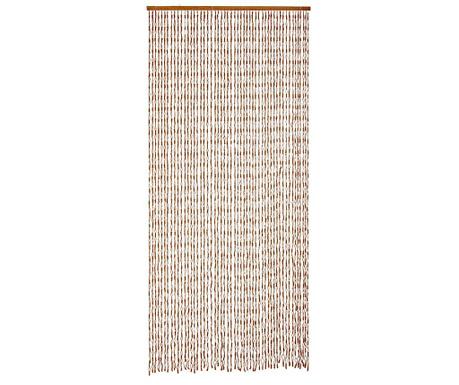 Záclona na dvere Knots 120x240 cm