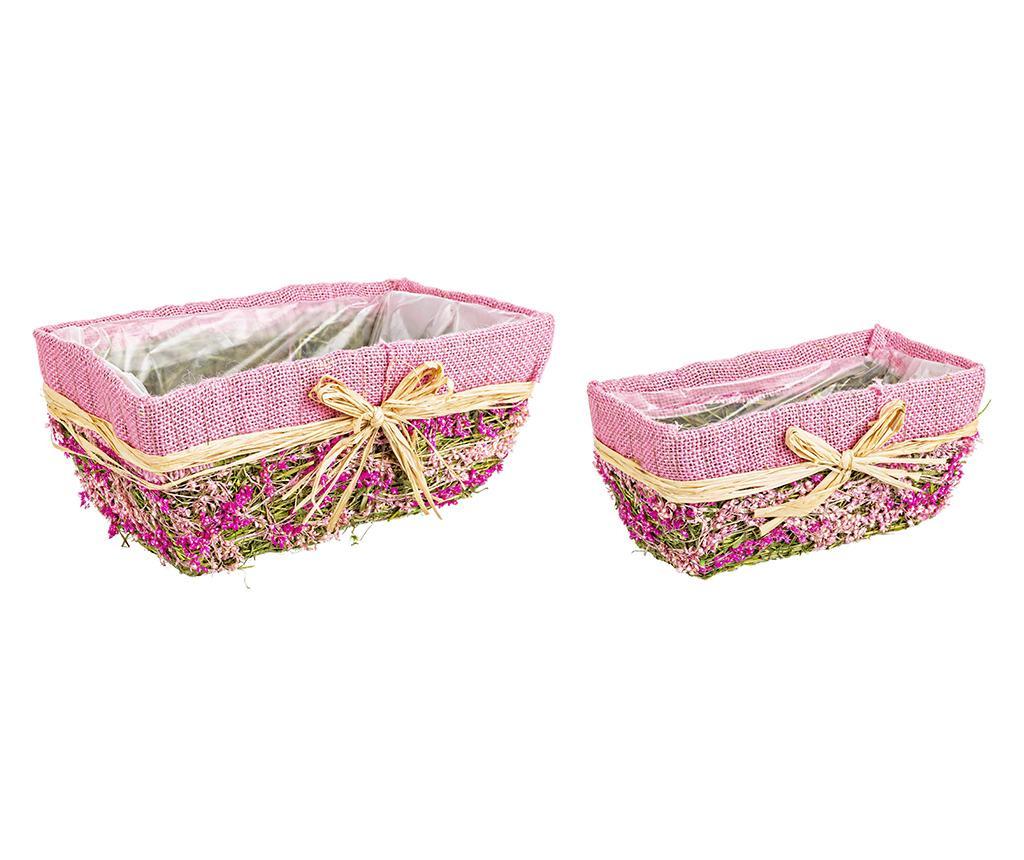 Set 2 cvetličnih korit Victoria