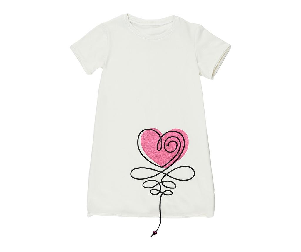 Otroška obleka Heart 5 let
