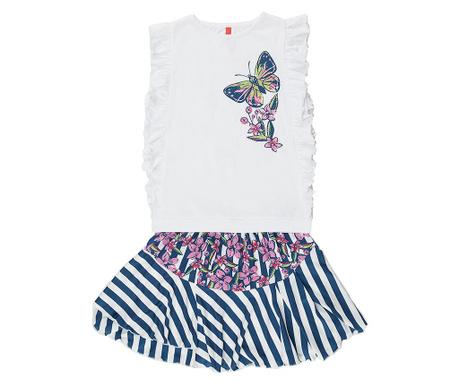 Sada tielko a sukňa pre deti Butterfly