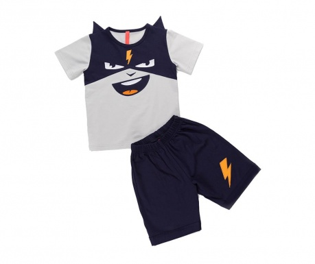 Sada detské tričko a krátke nohavice Cool Thunder